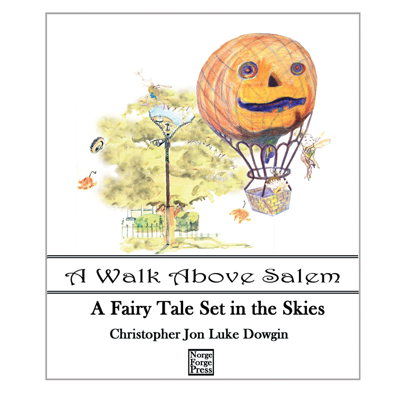 A walk through Salem Book Cover published by Salem House Press.
