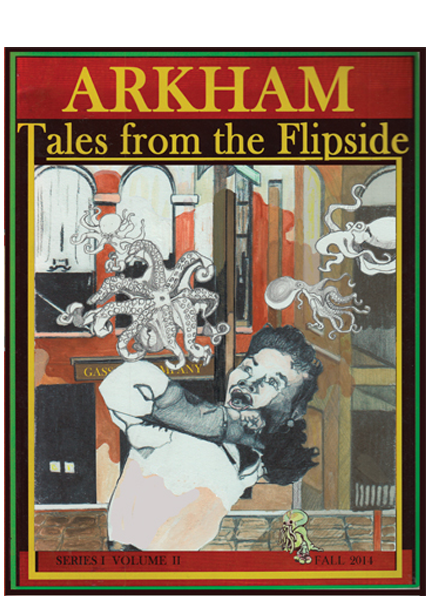 Arkham: Tales from the Flipside Quarterly cover