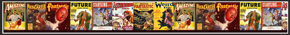 Pulp fiction Magazine covers.