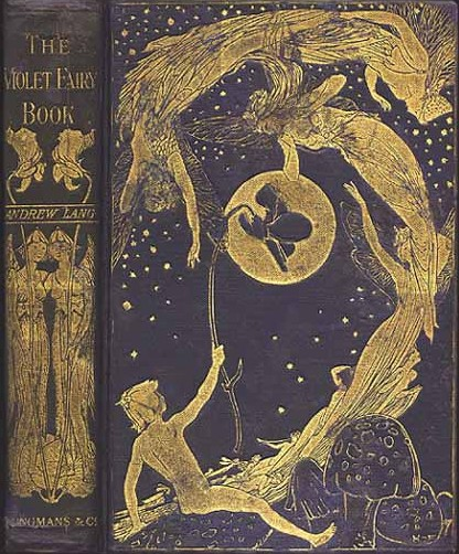 Violet Fairy Book by Andrew Lang book cover